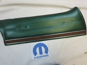 Nos 1972 1978 Plymouth Gran Fury Mopar Oem Interior Door Panel
