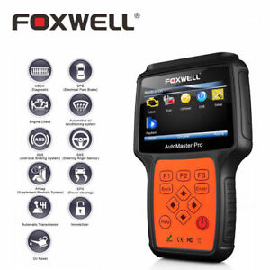 Foxwell Obd Scanner Reader Diagnostic Four Full System Abs Srs Airbag Tmc Tool