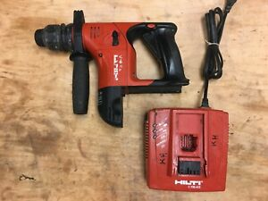 Hilti Te 6 a Cordless Rotary Hammer Drill Sds Plus C 7 36 acs Charger