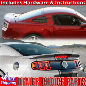 2010 2011 2012 2013 2014 Ford Mustang Gt500 Cobra Style Spoiler Wing Unpainted