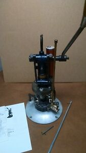 Star Machine Works Universal reloader setup for 38 Special357 great condition