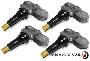 4 X New Itm Tire Pressure Sensor 315mhz Tpms For Mercedes Benz Cl