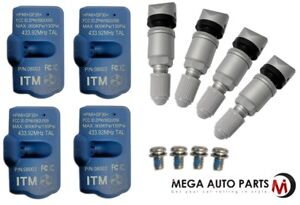 4 X New Itm Tire Pressure Sensor 433mhz Tpms For Mercedes Benz Ml 10 16