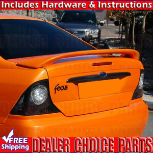 2000 2001 2002 2003 2004 Ford Focus Factory Style Spoiler Wing Unpainted
