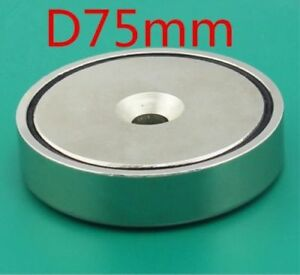 150 Kg Pull Power strong Treasure Salvage Retrieving Magnet Neodymium