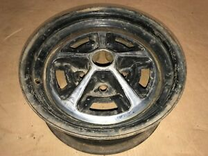 Rare Oldsmobile 14x5 5 Wheel 442 Gm Rally Wheel Ralley Cutlass Supreme Jk Code