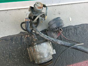 Fiat 124 2000 Spider Smog Air Pump Assembly For Lancia Scorpion Rare Parts