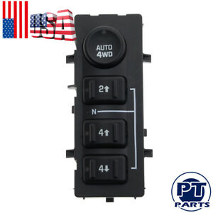 4wd4x4 Selector Switch For Chevrolet Silverado 1500 2500 3500 Avalanche Suburban