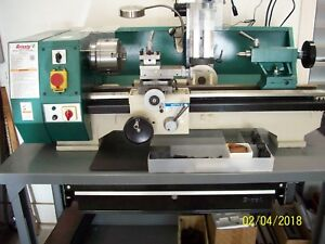 Grizzly Metal Lathe Mill Drill Combo go 516