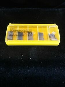 Kennametal 1113584 Top Notch Groove Turn Inserts New Pack Of 5