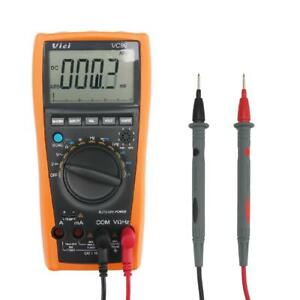 New Vici Vc99 Meter 3 6 7 Auto Range Digital Multimeter With Bag Test Leads Up