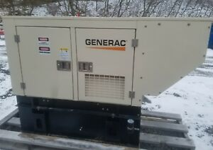 20kw Diesel Generator 2014 Multi Voltage Baldor Unit Generac Mitsubishi Engine