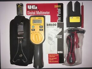 Uei Dm600 the Pistol Digital Multimeter Ac Dc Voltage Ohms Amp Meter New