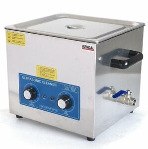 Kendal Commercial Grade 9 Liters 540 Watts Heated Ultrasonic Cleaner Hb 49mht