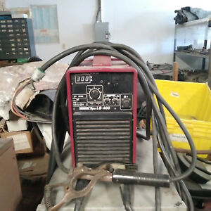 Thermal Dynamics Arc Type Ls 300 Dc Inverter Arc Welder 300a 1 3ph Smaw Tig