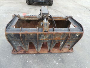 Bobcat 48 Industrial Demolition Grapple For Skid Steer Loader Bobcat S100 T110