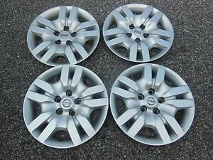 Oem Nissan Altima Hubcaps Wheel Covers 2009 2010 2011 2012 16 Set 4 53078 1