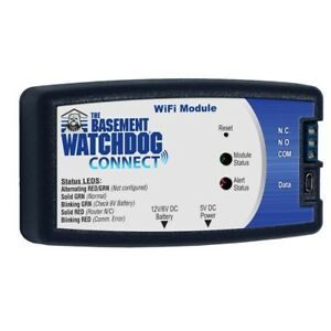 Basement Watchdog Wi fi Module Connection Home Sump Pump System Notification New