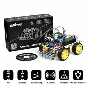 Robot Smart Car For Arduino Diy Learning Kit With Tutorial Android Wifi Bt Ir