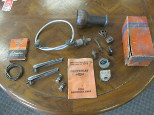 1931 1932 1933 1934 1935 1936 Chevy Master Speedometer Cable And Much More Lot