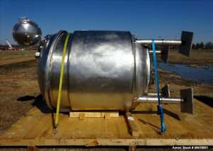 Used Inox Industries Reactor 660 Gallon 3000 Liter 316l Stainless Steel Ve