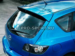 Mazda 3 Hatchback 2003 2004 2005 2006 2007 2008 Unpainted Rear Spoiler