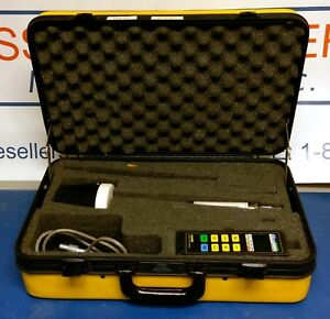 Narda 8712 Rf Survey Meter With A8724d E Field Probe And Case
