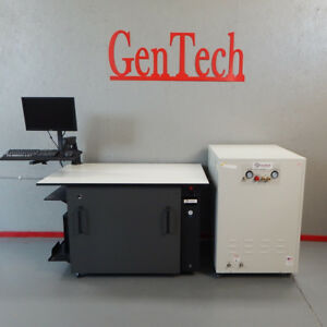 Quiet Mass Spec Workbench With Noise Enclosure Nitrogen Gas Generator