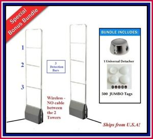 Wireless Super Acrylic Pkg Eas Rf Security System Checkpoint Compatible Tags