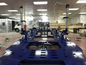 18 Feet Long Auto Body Shop Frame Machine With Free 2d Meas Clamps Tools Cart