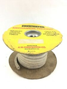 Chesterton 3 8in Ptfe Mechanical Compression Packing 20 Feet b472