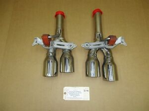 10 Panamera S Rwd 970 Porsche Aftermarket L R Rear Exhaust Tail Pipe Tips 95 439