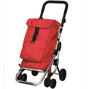 Rolling Shopping Trolley Red Carts Baskets Retail Services Business Industrial