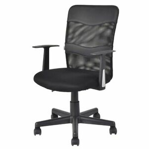 Office Chair Mesh Back Seat Height Adjustable Swivel Business Office Seat
