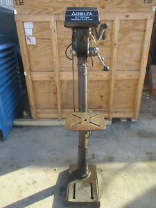 Delta 17 900 16 1 2 12 speed Floor Type Drill Press_great Deal_