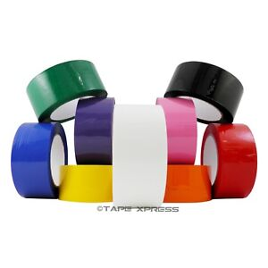 2 X 110 Yd 1 Roll Packing Tape Carton Sealing Several Colors Free Shipping