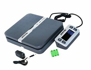 Accuteck Shippro 110lbs X 0 1 Oz Digital Shipping Postal Scale Gray w 8580