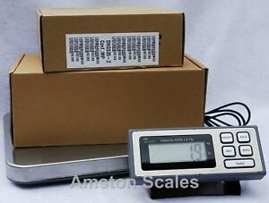 400 X 0 1 Lb 181 Kg Shipping Postal Scale 14 X 16 Platform Weigh Postage Mail