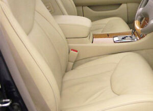 Armrest Center Console Lid Cover Real Leather For 01 06 Lexus Ls430 Beige