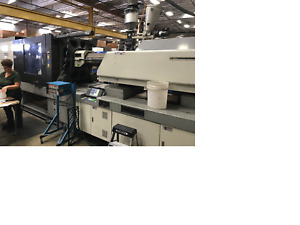 2003 Toyo 500 Ton Tm 500h Plastic Injection Molding Machine
