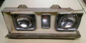 1972 Cadillac Deville Driver Head Light Assembly