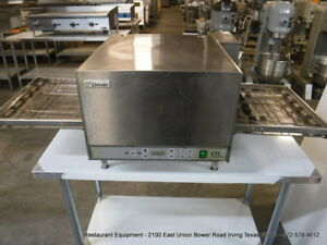 Lincoln Impinger 2501 Electric Single Conveyor Pizza Oven 208 Volts 1 Phase