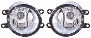 Pair Right Os Left Ns Fog Lights Lamp H11 For Toyota Avensis Mk3 Saloon 1 09 on