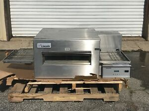 Lincoln Pizza Sandwich Electric Single Conveyor Oven Restaurant 1132 002