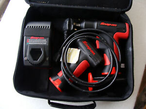 Snap On Ct561 3 8 Impact Wrench 3 Batteries Charger Cts561 7 2v Screwdriver