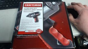 Craftsman 919984 1 2 inch Heavy Duty Composite Impact Wrench