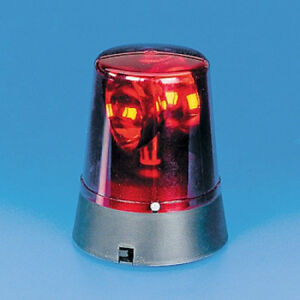 Emergency Red Flashing Light Warning Beacon Led Mini Rotating Flash Strobe New