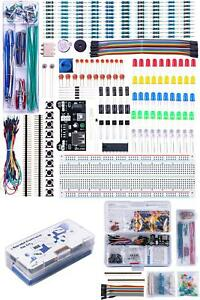 Arduino Raspberry Pi Electronic Kit Power Supply Jumper Potentiometer Breadboard