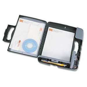 Officemate Portable Storage Clipboard Case 3 4 inch Capacity Holds 9 inch Wide X