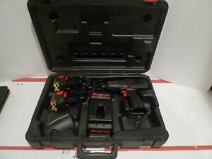 Snap On Cordless 3 8 Impact Ct3110 Charger Ctc318 2 Batteries With Case
